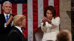 Nancy Pelosi's Withering Reactions To Trump's State Of The Union Address Are Going Viral [Video]