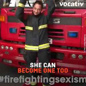 These Female Firefighters Are Burning Down Stereotypes for Little Girls [Video]