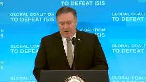 U.S. policy in Syria 'unchanged': Pompeo [Video]