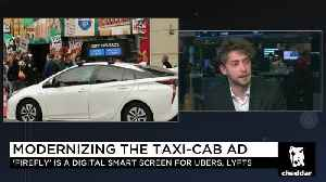 Firefly CEO Says Smart Screen Tech Will Boost Pay for Ridesharing Drivers, Provide Data to Cities [Video]