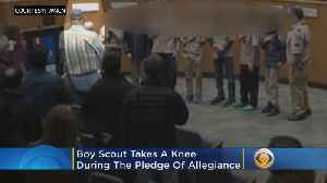 Cub Scout Takes A Knee During Pledge of Allegiance At City Council Meeting [Video]