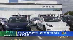 Tesla Cuts Prices [Video]