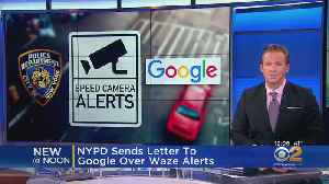 NYPD Sends Letter To Google Over Waze Alerts [Video]