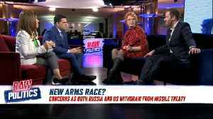 Raw Politics: The US and Russia suspend landmark arms control treaty [Video]