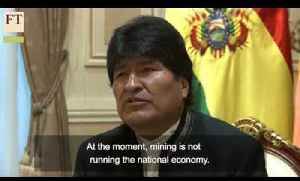 No fourth term plans - Bolivia's Morales [Video]