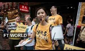 Hong Kongers ask for democracy | FT World [Video]