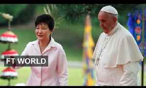 Pope Francis arrives in South Korea | FT World [Video]