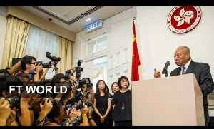 China rejects Hong Kong 'interference' [Video]