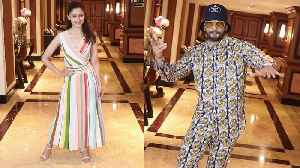 Alia Bhatt wears a colour-blocked, striped dress for Gully Boy promotions [Video]