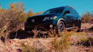 2019 Pathfinder Rock Creek Edition Offroad driving [Video]