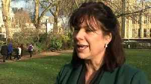 News video: Claire Perry defends energy price cap despite £117 rise