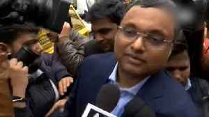 Karti Chidambaram avoids questions on money laundering case [Video]