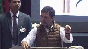 RSS considers itself above the country: Rahul Gandhi [Video]