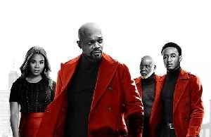 News video: SHAFT Movie - Jessie T. Usher and Samuel L. Jackson