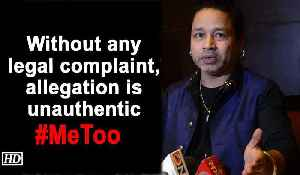Without any legal complaint, allegation is unauthentic : Kailash Kher [Video]