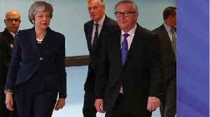 EU's Juncker, And UK's May 'Working Together' To Find Brexit Solution [Video]