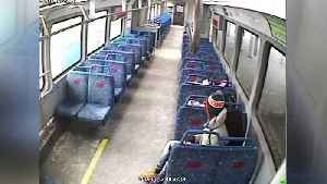 Man leaves baby on train in Cleveland [Video]