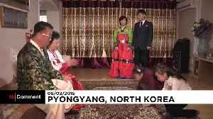 North Koreans celebrate first day of Lunar New Year [Video]