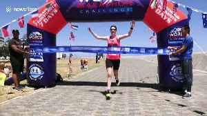British runner Susannah Gill sets world record to win World Marathon Challenge [Video]