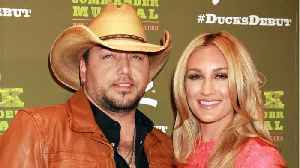 Jason Aldean's Wife Still In Hospital After Giving Birth [Video]