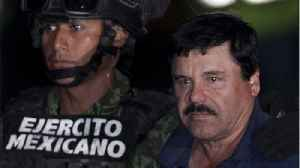 'El Chapo' Bumps Fists With Lawyers After First Week Of Trial Deliberations [Video]