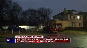 Cremated remains found at another shuttered Detroit funeral home [Video]
