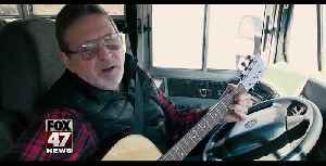 Bus Driver Raises Money To Support Literacy [Video]