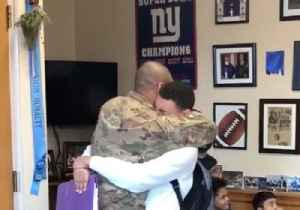High School Student Has Emotional Reunion With Air Force Father [Video]