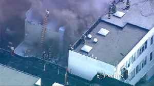 Suspected gas line breach causes inferno in SF: Fire chief [Video]