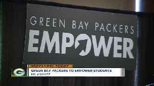 GREEN BAY PACKERS TO EMPOWER STUDENTS [Video]