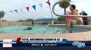 Data shows decrease in number of fatal child drownings in Arizona [Video]