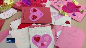 7-year-old collecting Valentine's Day cards for seniors [Video]