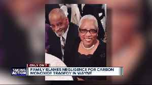 Family members blame landlord for parents' death due to carbon monoxide poisoning [Video]