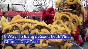 Ways To Bring Good Luck As Part Of Chinese New Year [Video]