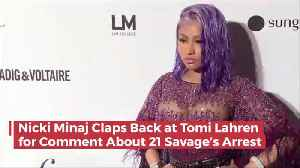 Nicki Minaj And Tomi Lahren Go At It Over 21 Savage [Video]