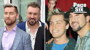 Lance Bass and Joey Fatone reveal what really happened on the Nsync tour bus [Video]