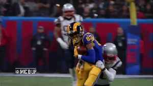 Mic'd Up: New England Patriots go wild after cornerback Stephon Gilmore's INT | Super Bowl LIII [Video]