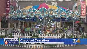 Holiday Carousel Benefits Food Bank Of The Rockies [Video]