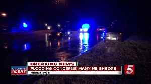 Severe storms cause flooding throughout mid-state [Video]