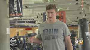 Luke Laufenberg Gets Scholarship To Play Football For UTEP After Leukemia Battle [Video]