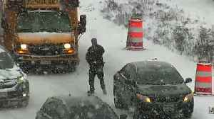 RAW VIDEO: Man Shoots School Bus Driver On I-35W In Mpls. [Video]