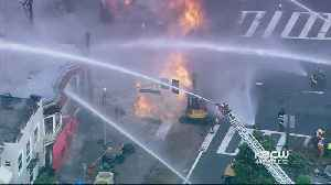 Team Coverage: Power Restored, Crews Work To Restore Gas After Huge SF Fire [Video]