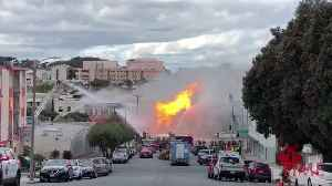 A Gas Explosion in San Francisco Damaged Five Buildings [Video]