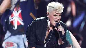 Pink Will Be First International Artist To Be Honored With Special Award in BRIT Awards [Video]