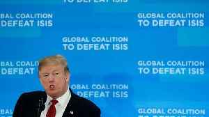 Trump says 100% of so-called Islamic State territory could be liberated by next week [Video]