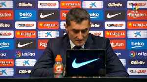 Valverde says Barca struggled with possession in draw against Real [Video]