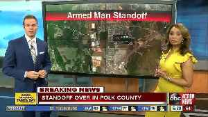 Armed man surrenders after standoff with deputies in Polk Co. [Video]
