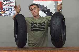 What's With Motorcycle Tire Width? - MC Garage Video [Video]