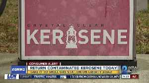 Kerosene contaminated with gasoline sold at Windsor Mill gas station [Video]