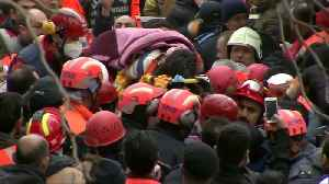 Five-year-old trapped in collapsed building in Istanbul rescued after 19 hours [Video]